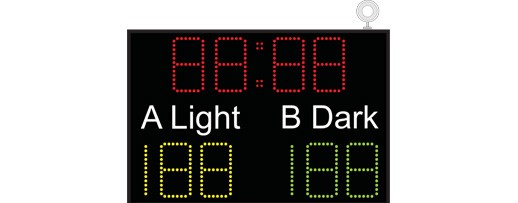 Basketball Scoreboard Model - SB8000