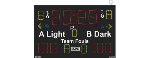 Basketball Scoreboard Model - SB8004