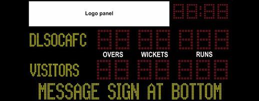 Cricket Scoreboard Model - TM